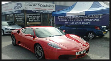 Dent Repair Clinic Every Saturday 8am - 4 pm BOC Manchester Road Bolton